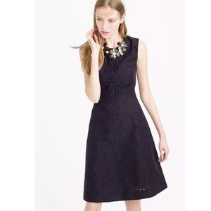 NEW J. Crew Jacquard Eyelet Sleeveless Dress